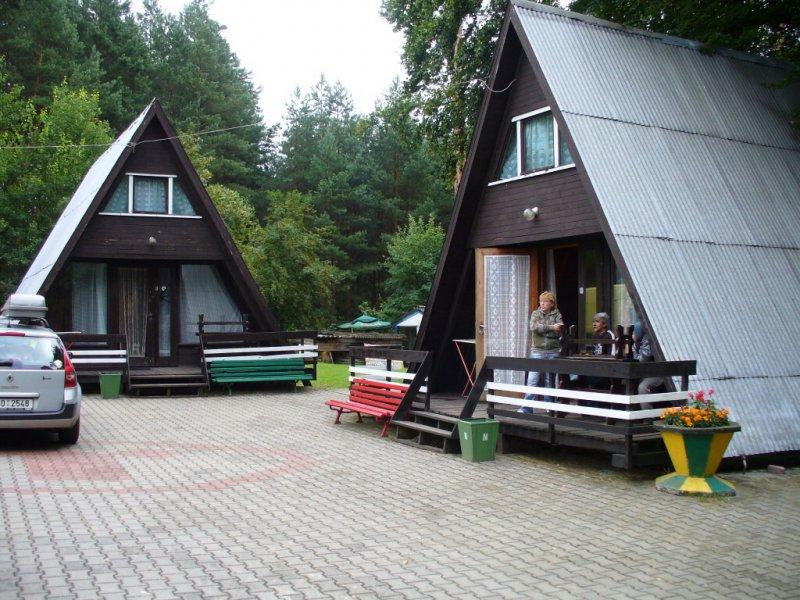 Ubytování v kempu nedaleko Gorzówa